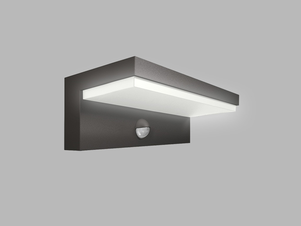 LED2 HUGO  PIR 9W 3000K 376lm